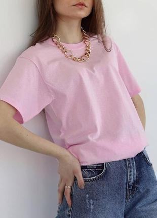 Яркие оверсайз футболки на лето /выбор цвета/unisex/ fruit of the loom🌷