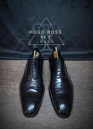 Туфли hugo boss 44.5 (31 cm) italy