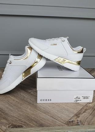 Новые белые кроссовки guess, original!