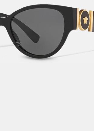 Очки солнцезащитные versace medusa6 фото
