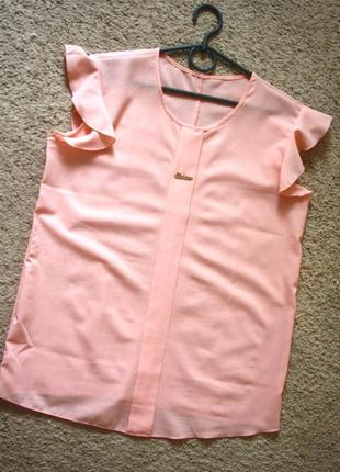 Базовя блузка с крепшифона