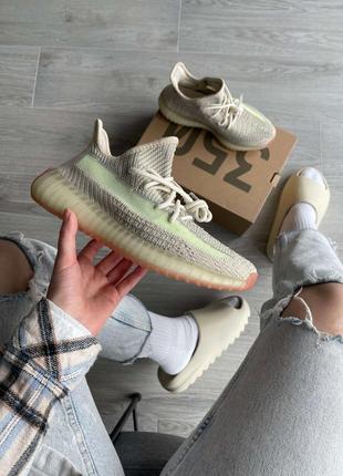 Новинка кроссовки унисекс adidas yeezy boost 350 v2 citrin наложка