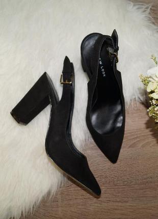 (38р./25см) new look! трендовые босоножки на устойчивом каблуке