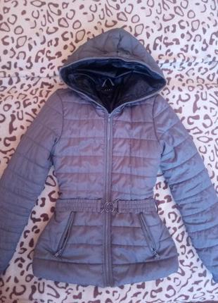 Крутая серая куртка sisley