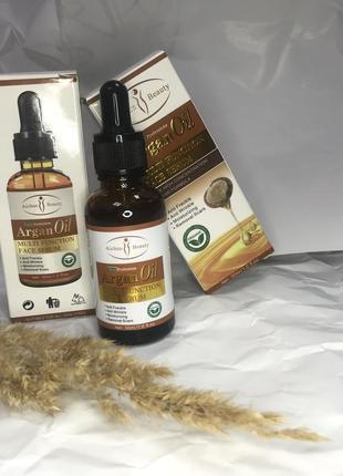 Сироватка багатофункціональна з аргановою олією aichun beauty argan oil multi function face serum