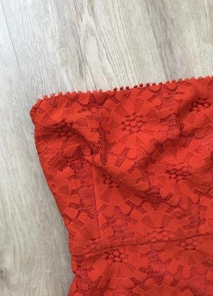Красное платье / червоне плаття / гипюровое платье9 фото