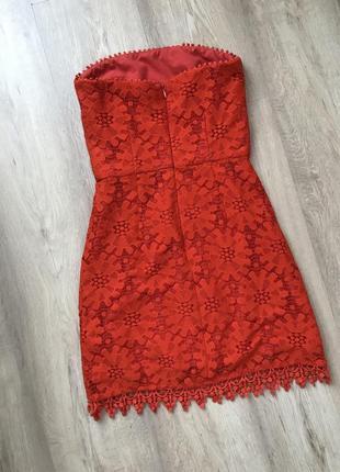 Красное платье / червоне плаття / гипюровое платье7 фото
