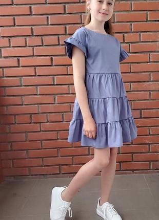 Літнє платтячко в трендових кольорах . сукня .платье