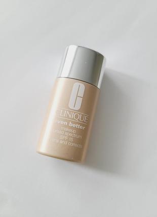 Тональная основа clinique even better makeup spf15