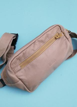 Бананка на пояс, шкіряна бананка , сумка, сумка через плече, поясная бананка, поясна сумка, кожаная бананка