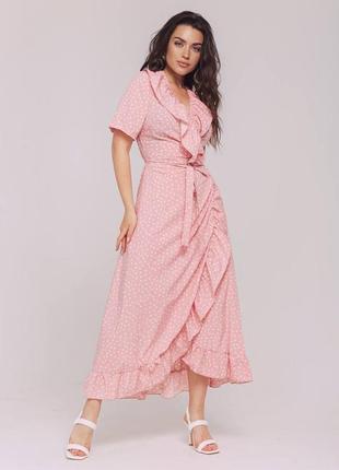 Платье на запах, сукня на запах