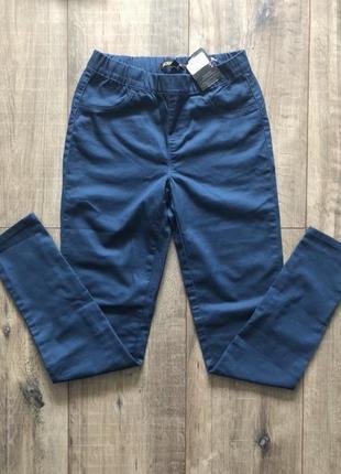 Брюки джинсы штаны хлопок качественные скинни скіні штани джегінси на резинке