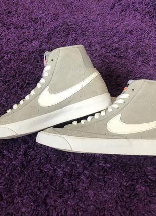 "Nike blazer mid '77 gs ""wolf grey"""