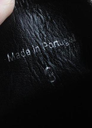 Мужские туфли с узором вышивкой asos, размер 439 фото