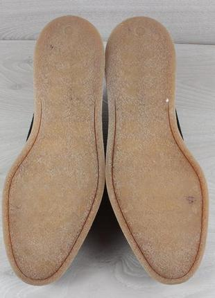 Мужские туфли с узором вышивкой asos, размер 435 фото