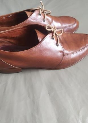 Легчайшие кожаные английские туфли