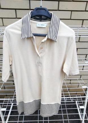 Рубашка-поло,туника, размер м-л.