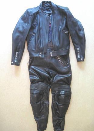 Мотокостюм harro, размер 40, женский