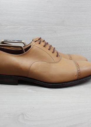 Кожаные классические туфли alfred sargent, размер 45 (оксфорды)