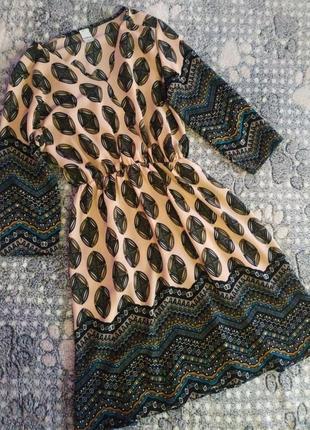Гарне плаття з принтом