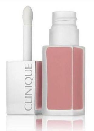 Помада clinique pop liquid matte lip colour primer