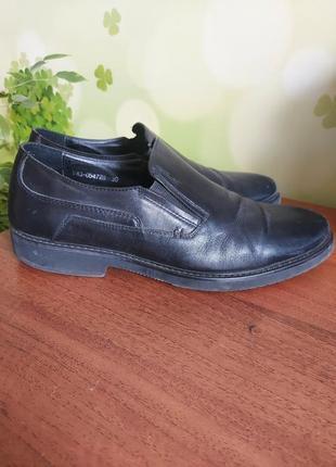 Кожаные туфли respect.