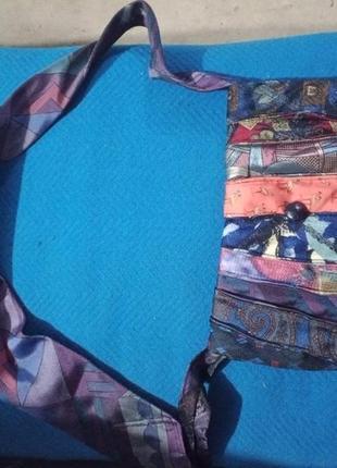 Оригинальная стильная сумка ручной работы
