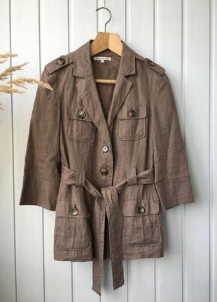Льняной жакет, пиджак