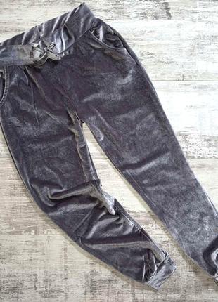 Штаны велюровые для девочек young style.
