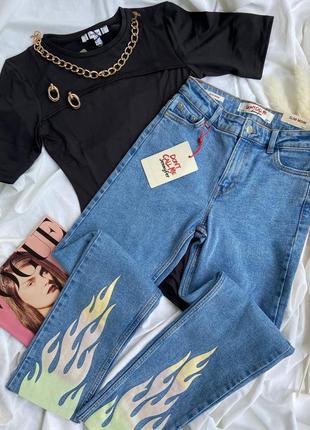 Акция джинсы slim mom в наличии