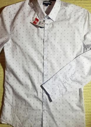 Мужская сорочка сток kiabi