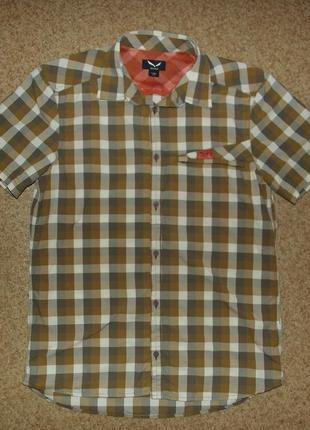 Трекинговая рубашка salewa valparola dry