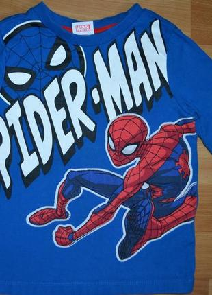 Кофта, реглан на мальчика 3-4 года, кофта человек паук
