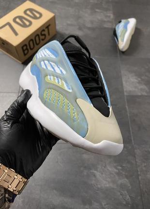Кроссовки adidas yeezy boost 700 v3 blue3 фото