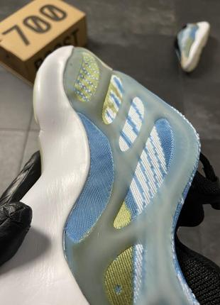 Кроссовки adidas yeezy boost 700 v3 blue7 фото