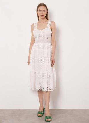 Платье imperial из прошвы