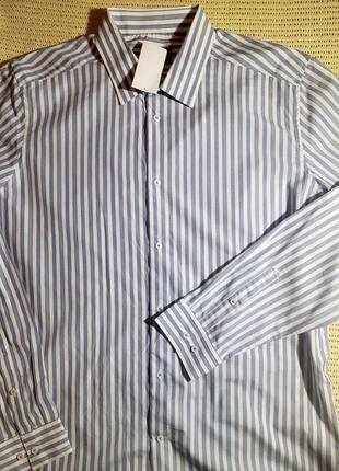 Мужская рубашка с длинным рукавом kiabi франция