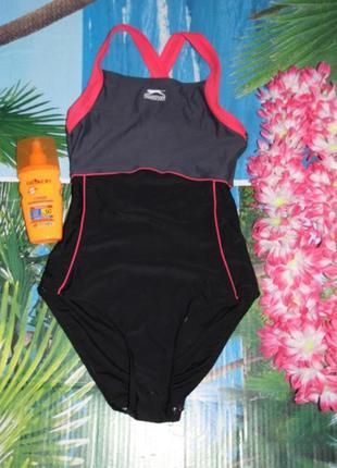 Суперовый фирменный спортивный купальник для бассейна и пляжа slazenger оригинал