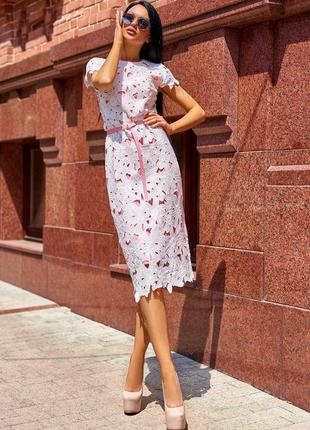 Платье лика без ремня персиковый цвета размеры белый бирюзовый