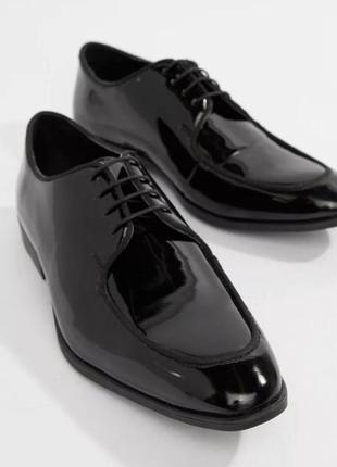 Asos лаковые классические туфли