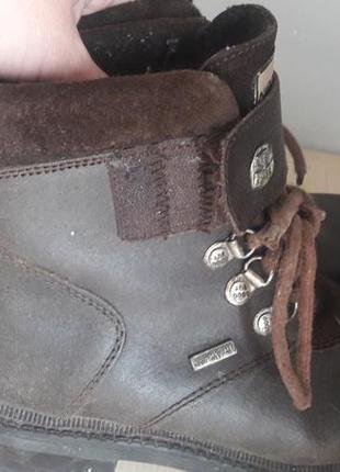 Кожаные ботинки supertex 39
