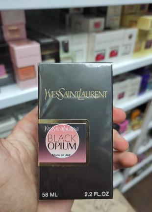Парфюмированная вода в стиле yves saint laurent black opium