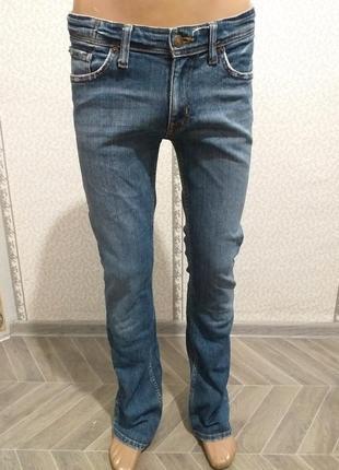 Стрейчевые, женские, джинсы, клёш. (5582)