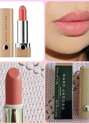 🌞sale🌞marc jacobs new nudes sheer gel lipstick understudy помада для губ