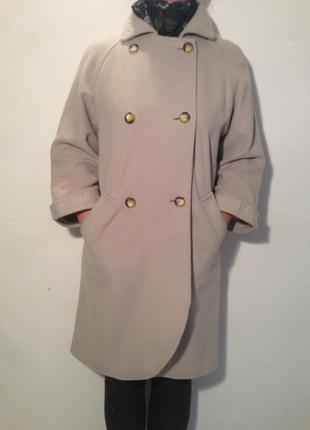 Пальто свободного покроя