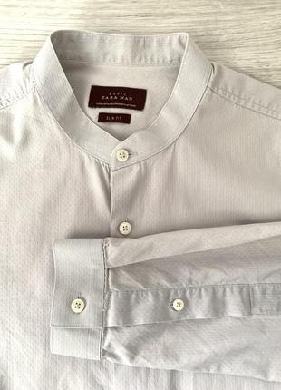 Zara men  красивая рубашка