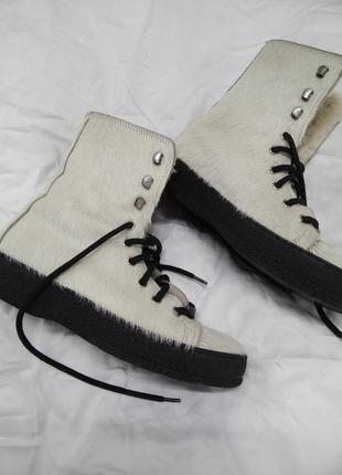 Зимнии ботинки от amann нат кожа