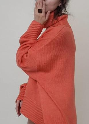 Женский вязаный свитер оверсайз/меринос 💯