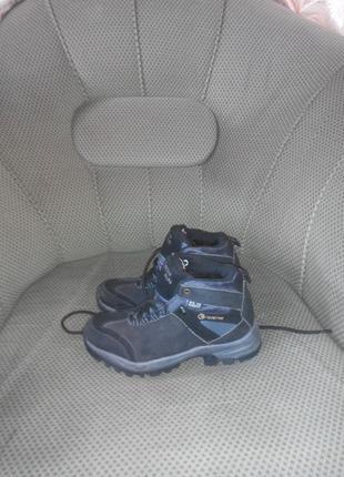 Бомбезные ботинки натуральные стелька:24.7см