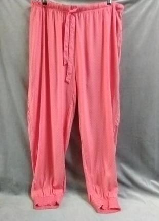 Жіночі літні домашні/піжамні штани, євр.р.48-50